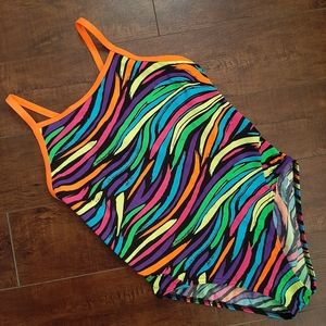 Funkita Girls Diamond Back Swimsuit Sz 14 / US 30
